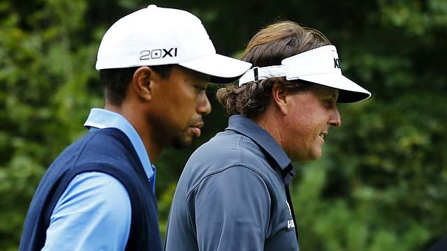 Tiger Woods Phil Mickelson Olympics